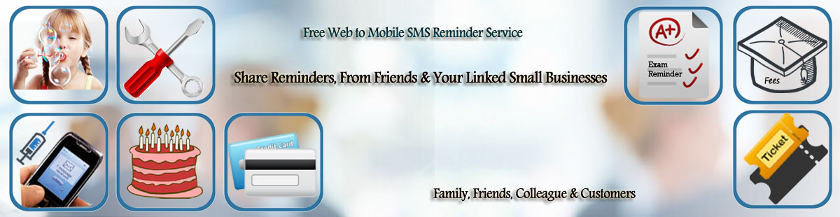 Free reminder application, free sms reminder software, free